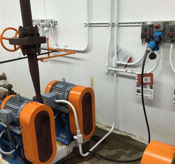 Belt Drive Pump Connection