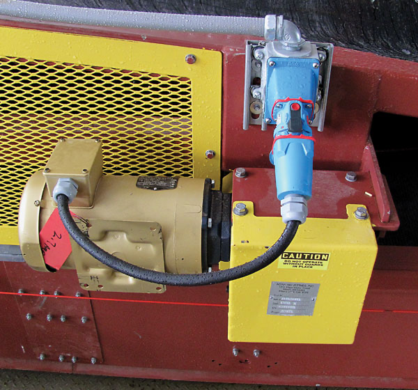 Motor Connections on Conveyors