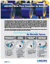folleto de conexiones de motor