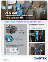 Folleto con DSN150