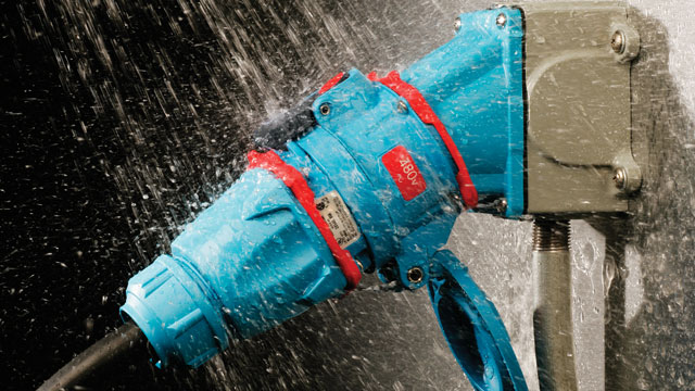 IP69K Type 4X rated watertightness